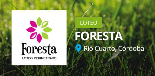 Foresta - Loteo Perimetrado en Rio Cuarto
